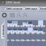 DMXの出力をチェックするテスター