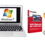 MAC AIRにParallels12を使ってWindows7を仮想化 照明ソフトが動くか検証