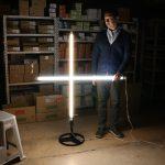 DMX制御する蛍光灯照明の演出 = LED蛍光灯